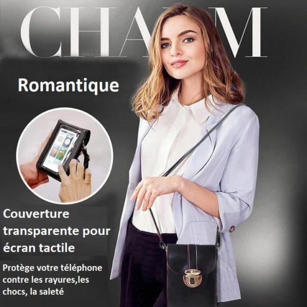 SAC2 800x a5799f3f 721a 4ce7 973b 1a9b45b10c0b Sac Bandoulière Pour Téléphone Portable - Smartphone