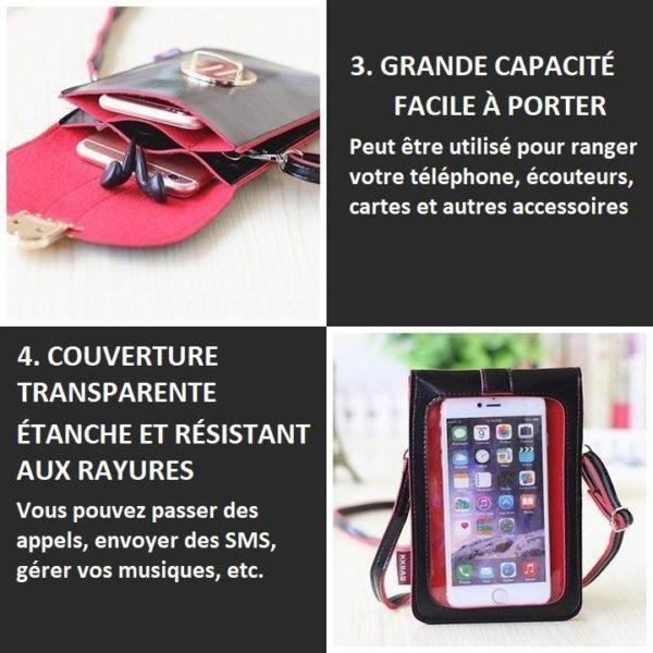 SAC5 800x 77df3bd0 5edf 45cb ad09 482a9aa0003d Sac Bandoulière Pour Téléphone Portable - Smartphone
