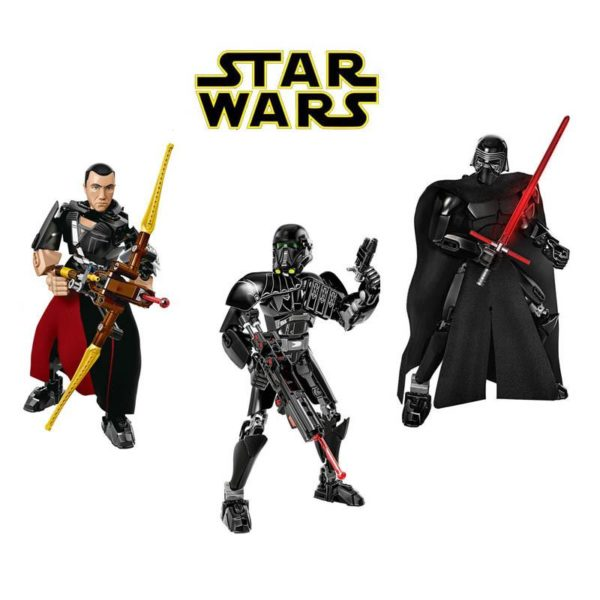 Sans titre 1 Lego Figurine Star Wars (Chirrut Imwe Kylo Ren Imperial Death Troop) - Livraison Gratuite !