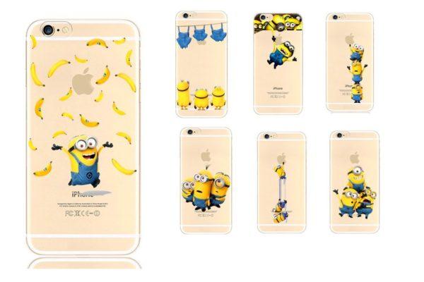 Sans titre 1 684385a1 b300 43ae 9327 7ccc5f5e2505 Coque Minions Pour Iphone (4S, 5S, 5C, 6S Et 6 Plus) - Livraison Gratuite !