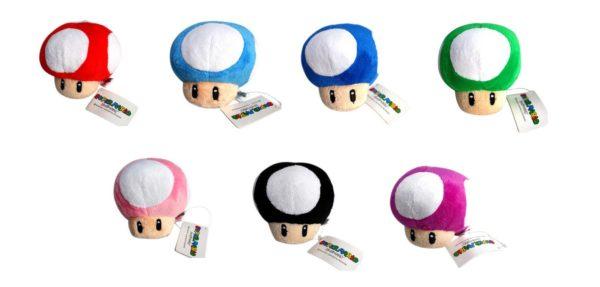 Sans titre 2 Peluche Toad Super Mario Bros (7 Couleurs Disponibles) - Livraison Gratuite !
