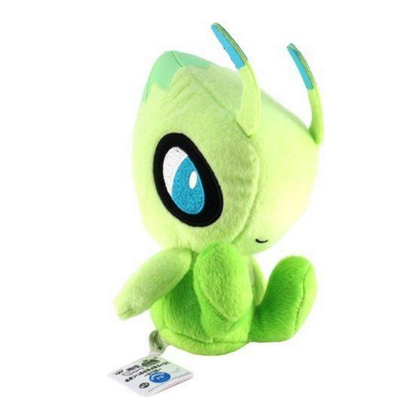 Sans titre 2 444fe319 d869 4bbe 88e8 8464404163cd Peluche Celebi (18Cm) Pokemon - Livraison Gratuite !