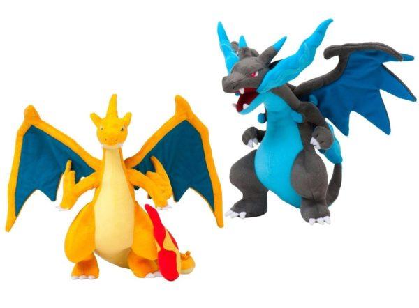 Sans titre 2 cffbad5f f542 4525 a433 9b473147b57f Peluche Mega Evolution X&Y Dracaufeu (23-25Cm) Pokemon - Livraison Gratuite !