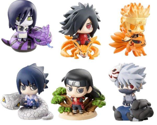 Sans titre 3 1 Lot De 6 Figurines Naruto 5 Cm (2 Versions) - Livraison Gratuite !
