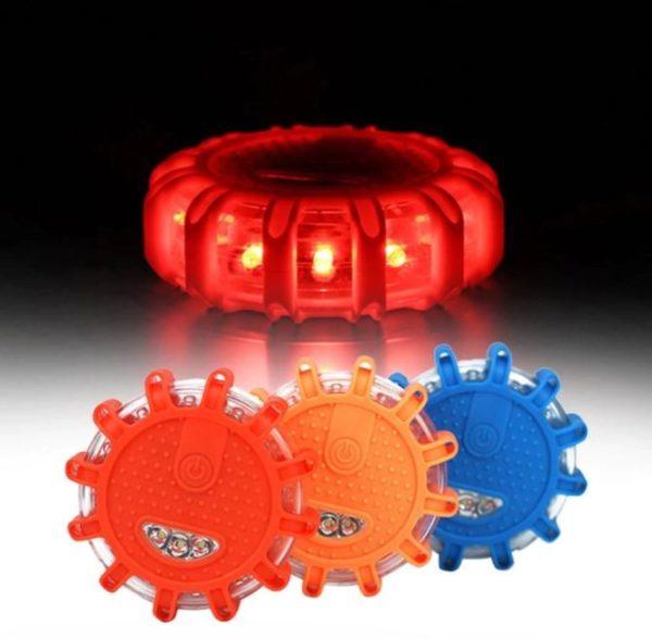 Éclairage d'Urgence Magnétique Pour Véhicule Flash Ventes Rouge