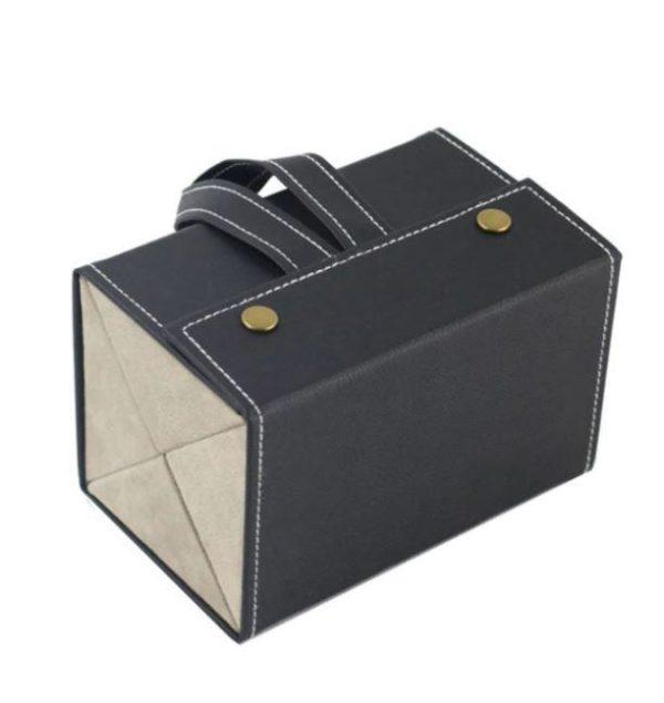 Boîte De Rangement Pour Lunettes Flash Ventes Noir - 4 poches