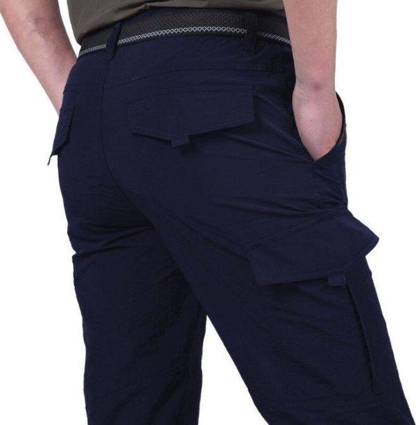 Pantalon Tactique Pour Hommes Et Femmes Raton Malin Bleu marine XXXL