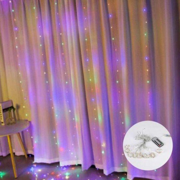 Guirlandes lumineuses Pour votre Intérieur Flash Ventes Multicolore 3mx1m