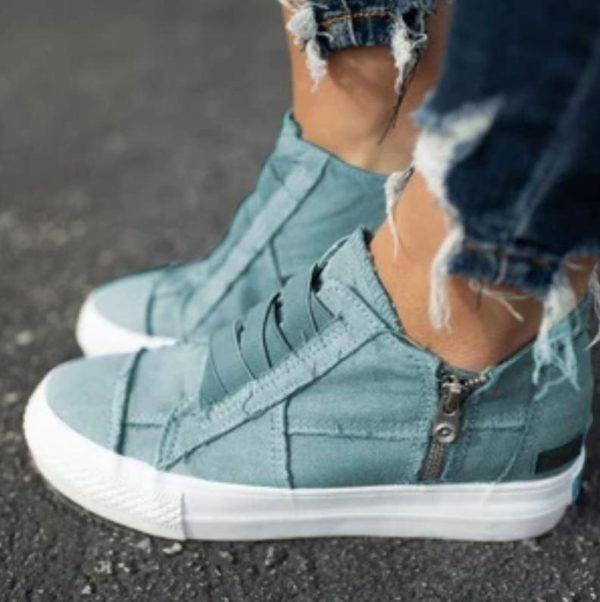 Chaussures Féminines Daily Minute Mode Bleu 34