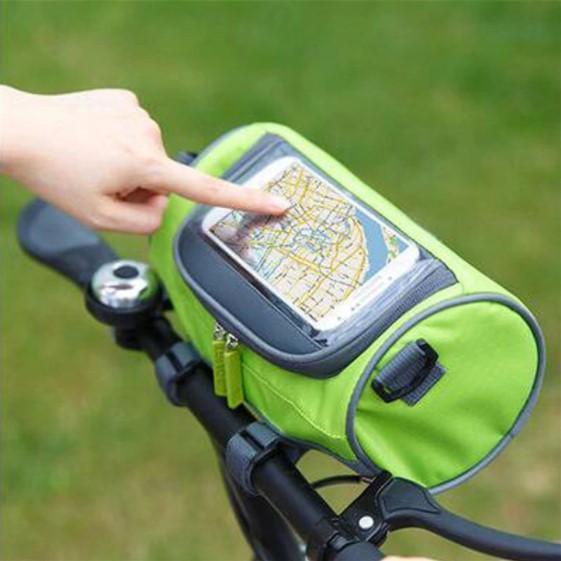 Screenshot 1 22b63c31 21e1 4fe9 9bf6 7cf01e69ba87 Sacoche De Guidon Multifonctionnel À Ecran Tactile - Bicyclebag™
