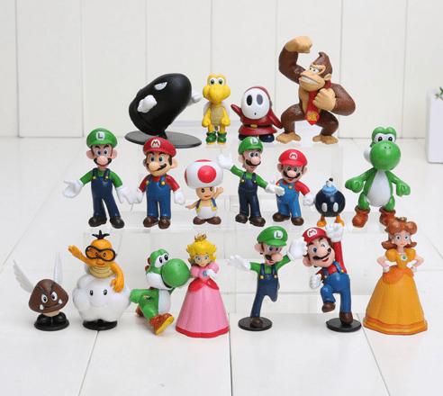 Screenshot 1 3dca574b 50f9 4ec5 8b5e 0417e5c91306 1 Lot De 18 Figurines Super Mario Bros. - Livraison Gratuite !