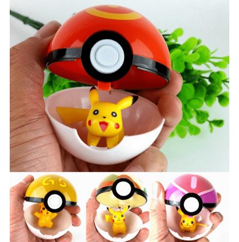 Screenshot 1 448065af db3e 4eb1 bdd0 b7c63d3f9e35 Pokeball/Pièce 7Cm Avec Figurine Pokémon A L'intérieur - Livraison Gratuite !