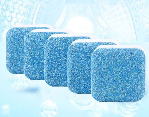 Tablettes Effervescentes - Nettoyage En Profondeur de votre machine à laver   Lave-linge Raton Malin 5 Pièces