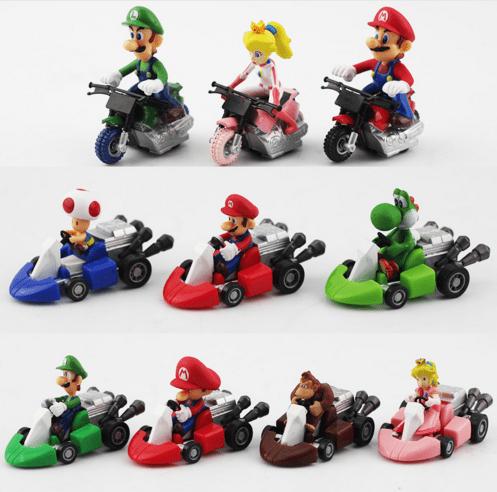 Screenshot 1 670bd52c 2c7a 4cd9 86a3 1b3d22054025 1 Lot De 10 Figurines Super Mario Bros. Pack Voitures/Motos - Livraison Gratuite !