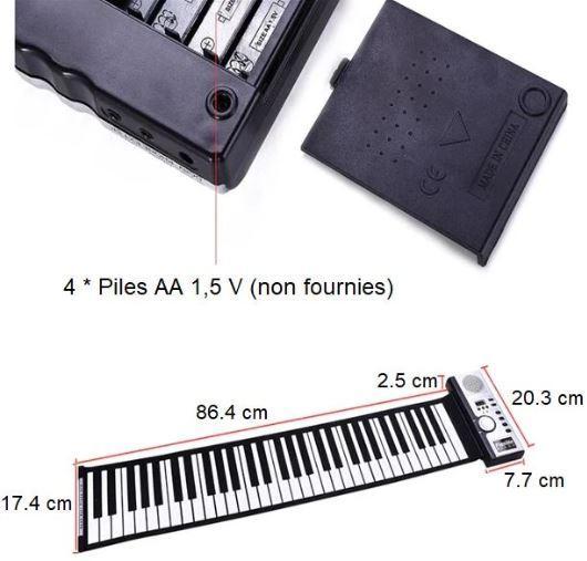 Screenshot 1 e85d9ade 2efe 4eee 87aa b76f655de2c1 Clavier Piano Electronique Portable