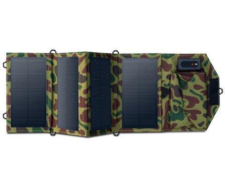 Chargeur de téléphone - panneau solaire portable 8W raton-malin Chine Numérique