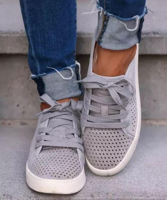 Baskets Grey Casual Site Vêtements 43