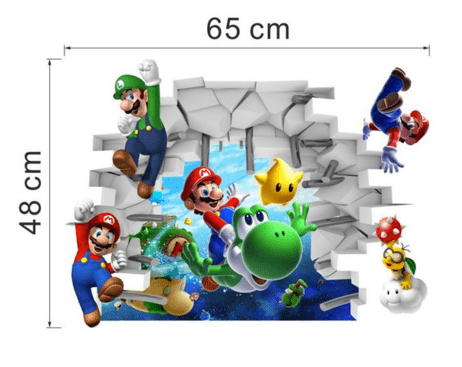 Screenshot 2 4ecd8594 1728 4fb1 bd4d 949a0f48ade7 Stickers Muraux Super Mario Bros. - Livraison Gratuite !