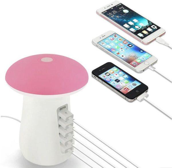 Screenshot 2 960bfb0a f00c 476a 81ac 441b5b729805 Socle De Chargement Rapide Multi-Port & Lampe (5 Ports)