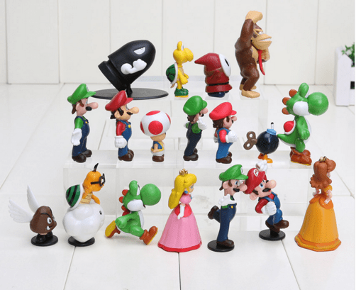Screenshot 2 98fccbc5 f43b 423e 9c96 d8096c9a5b79 1 Lot De 18 Figurines Super Mario Bros. - Livraison Gratuite !