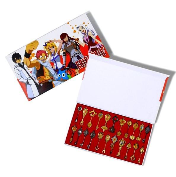 Screenshot 2 b257d261 b770 466d b5bb 74c5e6cf2de3 Coffret Collector Trousseau De 22 Clés Lucy Fairy Tail - Livraison Gratuite !