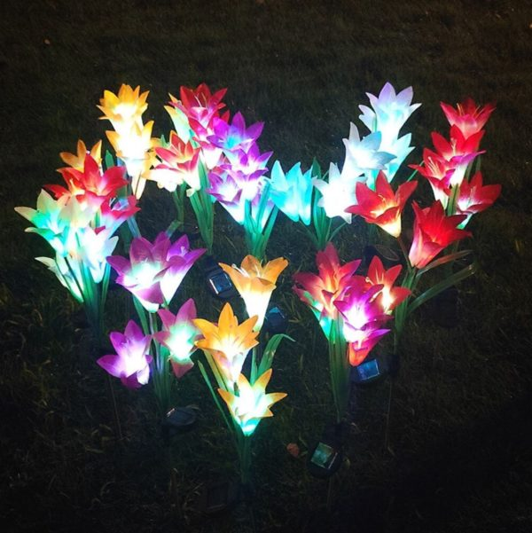 Fleurs Artificielles Lumineuses Raton Malin