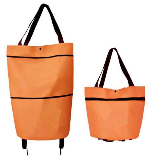Sac de Provisions Pliable Raton Malin Orange