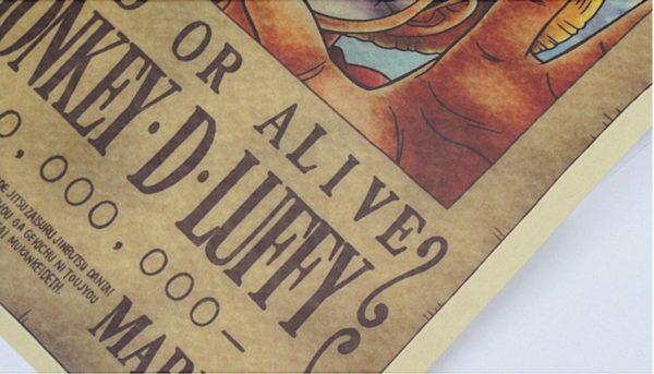 Screenshot 3 6abfbcef 09e1 4807 9bec 73b0cf0b4187 Stickers Muraux One Piece En Papier Vintage - Livraison Gratuite !