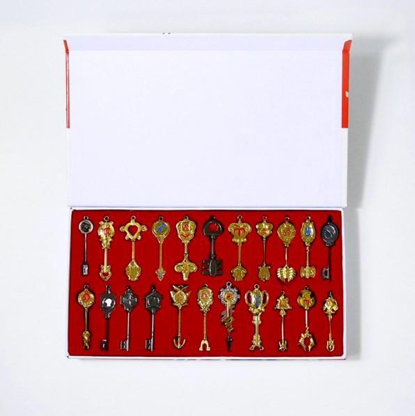 Screenshot 3 6b9baffe 6bb8 4109 a19f c9a8977db052 Coffret Collector Trousseau De 22 Clés Lucy Fairy Tail - Livraison Gratuite !