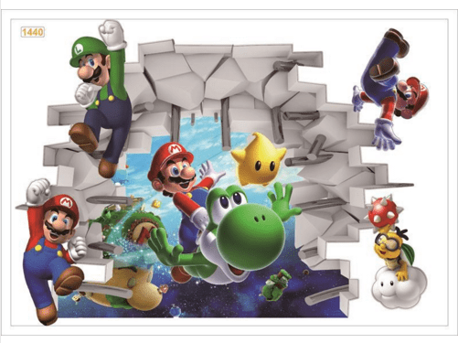 Screenshot 3 96678fb6 80d3 45f2 b4b6 4cd31e406fd2 Stickers Muraux Super Mario Bros. - Livraison Gratuite !
