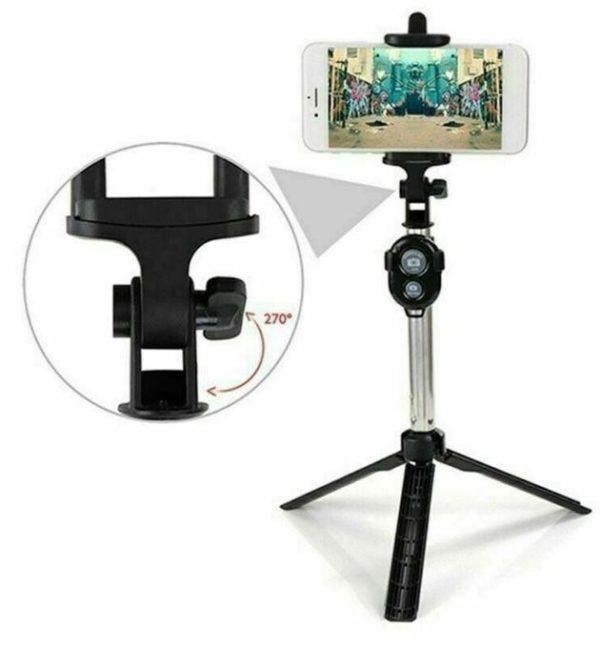 Screenshot 4 9c716de7 75b4 4797 9afa 1f6a5d6a325f Perche À Selfie 4-En-1 Avec Télécommande Bluetooth