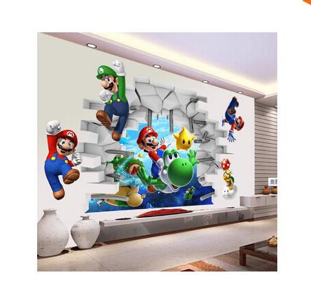 Screenshot 4 f44e1e5d 5ffb 4a35 9a0f f424954f7a92 Stickers Muraux Super Mario Bros. - Livraison Gratuite !