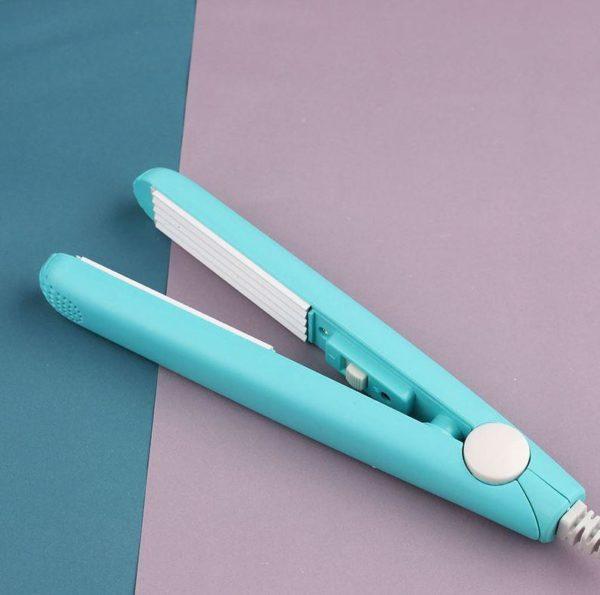 Mini Boucleur à Cheveux En Céramique - CareHair™ Flash Ventes Bleu