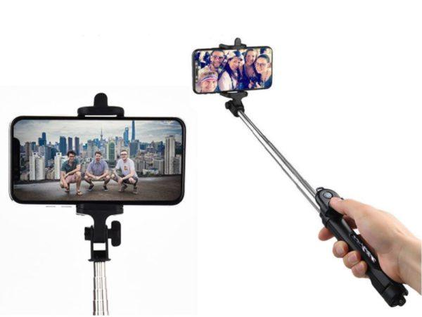 Screenshot 5 61a77f69 b2e1 48fa 9c35 9ca1a15c8151 Perche À Selfie 4-En-1 Avec Télécommande Bluetooth