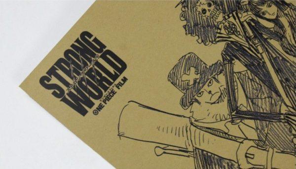 Screenshot 6 265d8a1e 7d22 4c2b a41b fb8c7dd6284c Stickers Muraux One Piece En Papier Vintage - Livraison Gratuite !