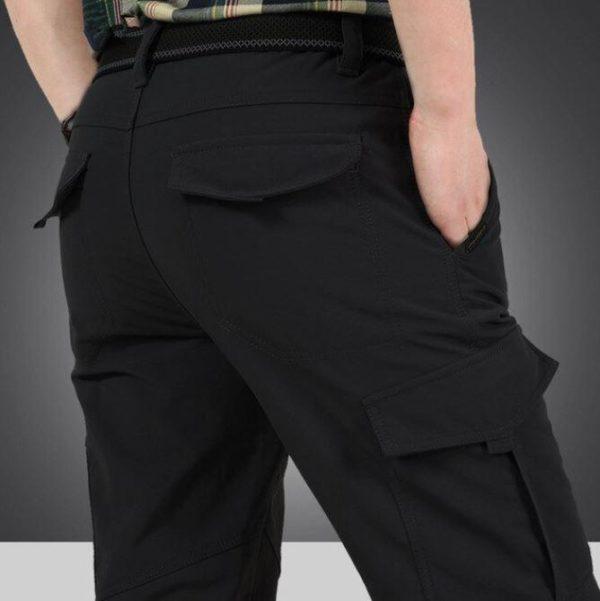 Pantalon Tactique Pour Hommes Et Femmes Raton Malin Noir 4XL