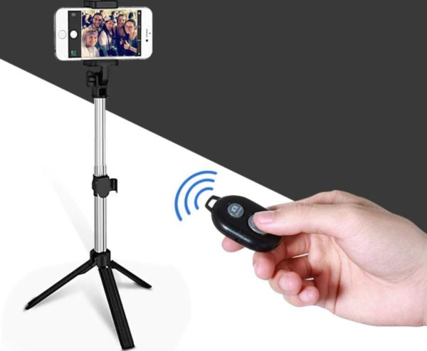 Screenshot 6 8f4c5a56 79be 4c93 9dbb 09b97bb256cf Perche À Selfie 4-En-1 Avec Télécommande Bluetooth