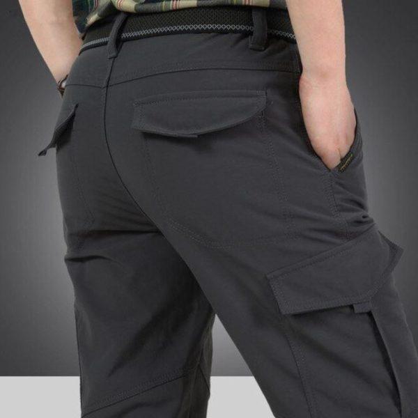 Pantalon Tactique Pour Hommes Et Femmes Raton Malin Gris 4XL