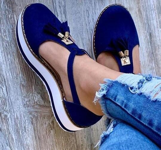 Chaussures Ouvertes Tendances 2020 Minute Mode Bleu 35
