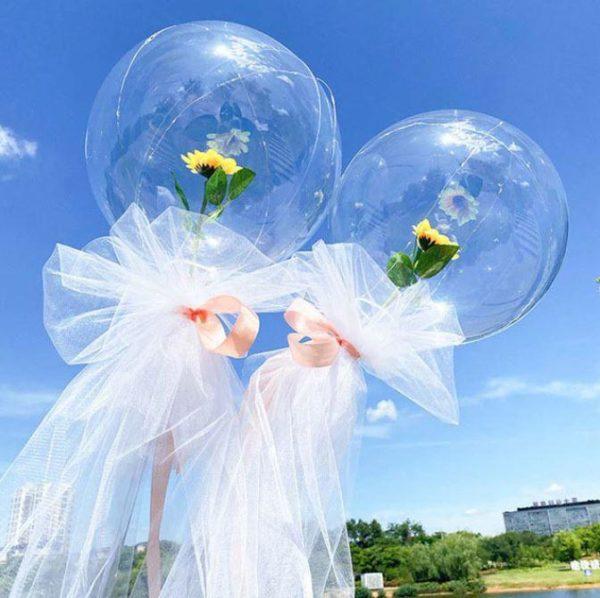 Ballons LED Lumineux Rose Éternelle Flash Ventes Modèle 3