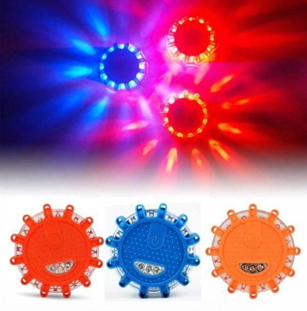 Éclairage d'Urgence Magnétique Pour Véhicule Flash Ventes Bleu