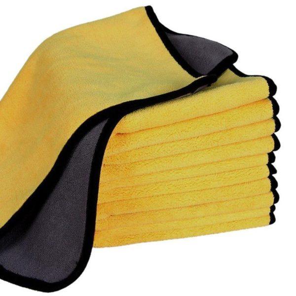 Serviette de Lavage Auto Serviette Microfibre, Le Meilleur Moyen Pour Nettoyer Sa Voiture