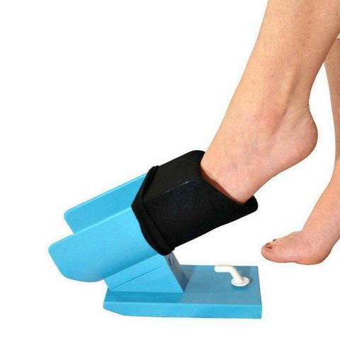 Sock Slider The Easy on Easy off Sock Aid Kit Shoe Horn large 97196b30 7e73 479f a5a4 8f6e9fd0bd45 Aide Enfile-Chaussettes Sockaid 2.0