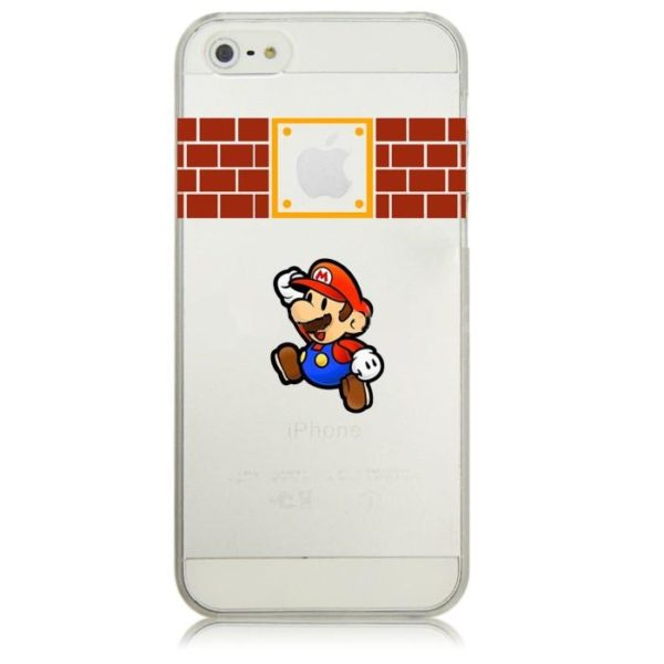Super font b Mario b font font b Bros b font Clear Plastic Case for font e369f898 6928 492b b55b 94a2597a611a Coque Mario Bross Spéciale !