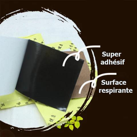 Surface respirante Patch De Cicatrisation À Base De Plantes Pour Varices