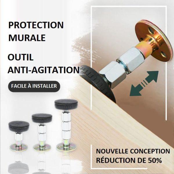 T4copy Copie Anti-Agitation Pour Cadre De Lit À Filetage Réglable
