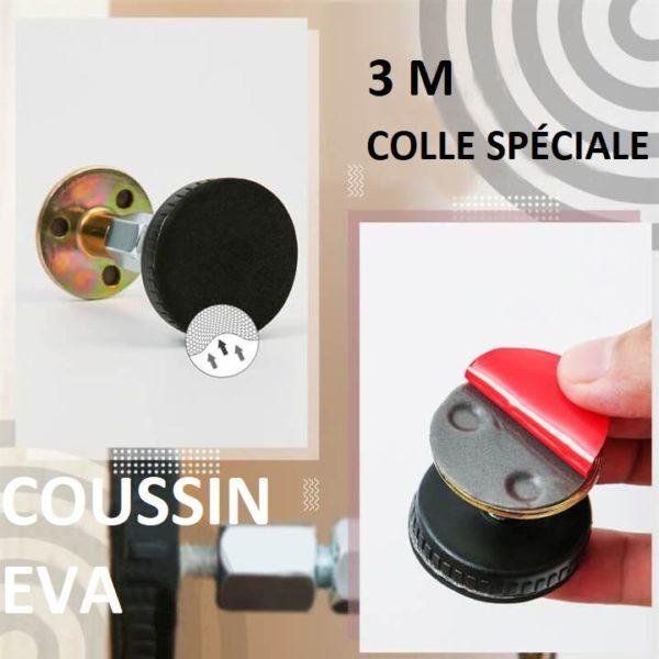T5 Copie Anti-Agitation Pour Cadre De Lit À Filetage Réglable