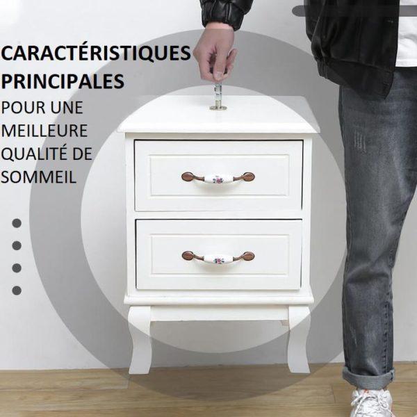T6 Copie Anti-Agitation Pour Cadre De Lit À Filetage Réglable