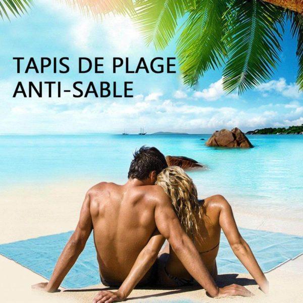 Tapis de plage pliable Tapis De Plage, Le Meilleur Tapis Anti Sable