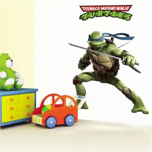 Teenage mutant ninja turtles accueil stickers 031 diy decoratif autocollants enfants chambre amovible de bande dessinee.jpg 640x640 364e7672 6bd9 4e6e bd59 03bb87ebf0e2 Stickers Muraux Tortues Ninja (50 X 70 Cm) - Livraison Gratuite !